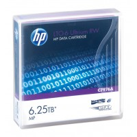 קלטת גיבוי HP LTO-6 Ultrium 6.25TB MP RW Data Cartridge C7976A