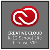 Adobe Creative Cloud for teams K-12 Education 500 licenses 65277296BB01A12