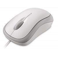 Basic Optical Mouse Mac/Win USB - White P58-00058