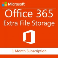 Microsoft Office 365 Extra File Storage Corporate 1 Month