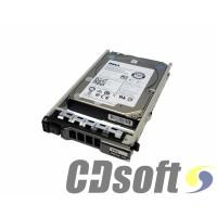 דיסק קשיח לשרת Dell 600GB 10K RPM SAS 12Gbps 3.5 inch HDD
