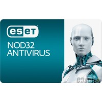 אנטי וירוס Eset NOD32 Antivirus Renew For 2 Computers 1 Year