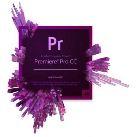 תוכנת Adobe Premiere Pro CC Full License 1 Year 65297627BA01A12