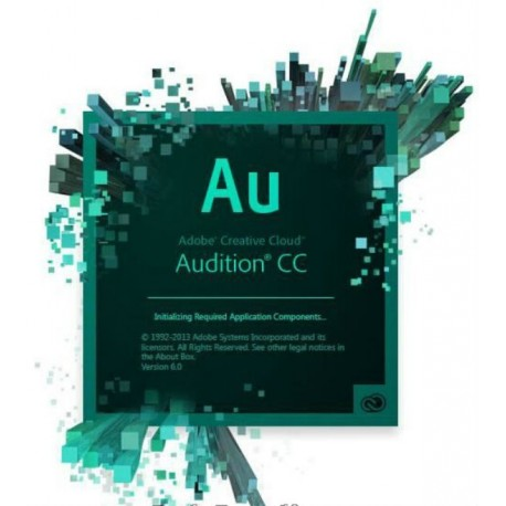 Adobe Audition CC Full License 1 Year Gov 65297746BC01A12