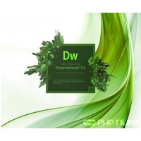 Adobe Dreamweaver CC Full License 1 Year 65297796BA01A12