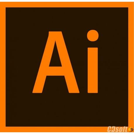 Adobe Illustrator CC for teams Renewal License 1 Year 65297598BA01A12