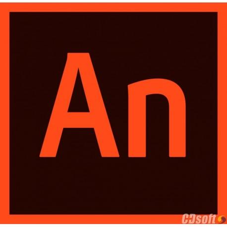 Adobe Animate CC Renewal License 1 Year 65297557BA01A12