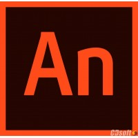 Adobe Animate CC Renewal License 1 Year Gov 65297557BC01A12