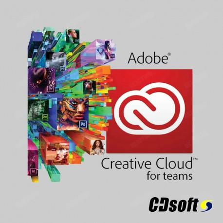 Adobe Creative Cloud For Teams Complete 1 Year Education 65272475BB01A12
