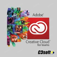 Adobe Creative Cloud for teams All Apps with Adobe Stock 10 images 1 Year Education Named license 65276774BB01A12