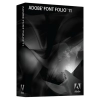 Adobe Font Folio Upgrade License 47060256AD01A00