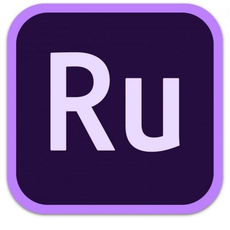 Adobe Premiere RUSH for teams 1 Year License 65297647BA01A12