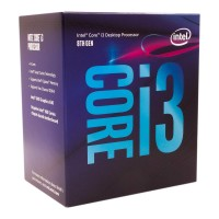מעבד Intel Core i3-8100 Box BX80684I38100-SR3N5