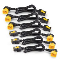 APC Power Cord Kit (6 ea) Locking C13 to C14 0.6m AP8702S-WW