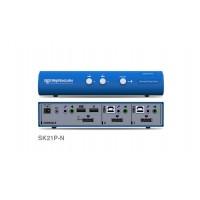 קופסת מיתוג High Sec Labs SK21P-N 2-Port DP Video KVM switch CPN11411