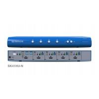 קופסת מיתוג High Sec Labs SK41HU-N 4-Port 4K HDMI Video KVM switch CPN11179