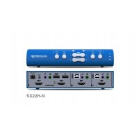 קופסת מיתוג High Sec Labs SX22H-N 2-Port x 2 HDMI Video KVM Mini-Matrix switch CPN11417