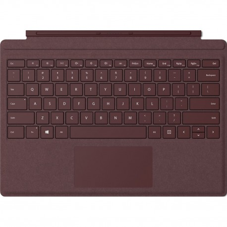 מקלדת סרפס פרו Microsoft Surface Pro Signature Type Cover Burgundy FFQ-00041