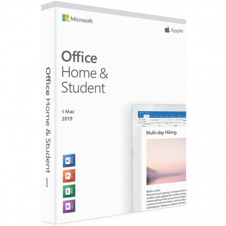 Microsoft Office Mac Home and Student English GZA-00930