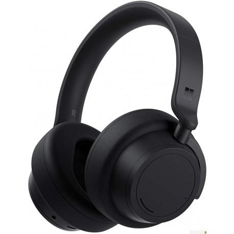 אוזניות מיקרוסופט סרפס Microsoft Surface Headphones 2 Black QST-00001