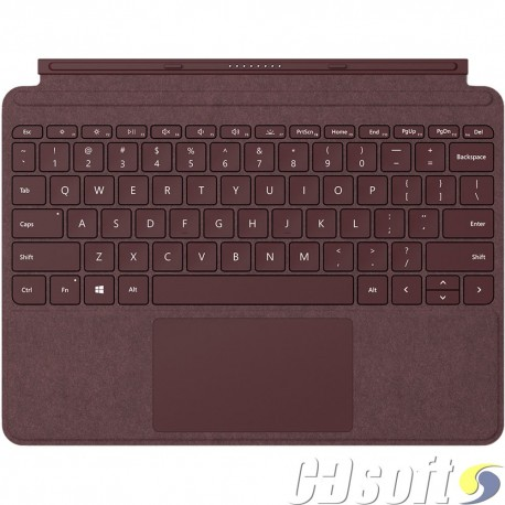 מקלדת סרפס גו Microsoft Surface Go Signature Type Cover Hebrew burgundy KCT-00041