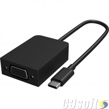 מתאם Microsoft Surface USB-C to VGA adapter HFT-00001