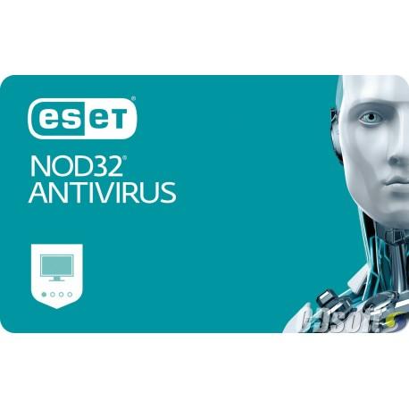 אנטי וירוס Eset NOD32 Antivirus Renew For 6 Computers 1 Year