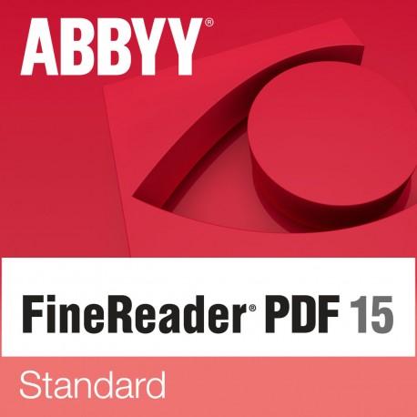 תוכנת ABBYY FineReader 15 PDF Standard Named User License