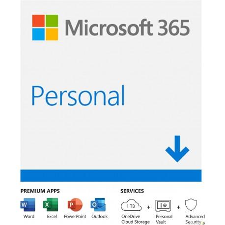 תוכנת אופיס לשנה Microsoft 365 Personal All Lang 1 Year ESD QQ2-00005