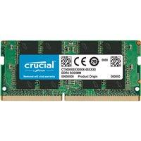 זיכרון למחשב נייד Crucial SODIMM 8GB DDR4 3200Mhz CT8G4SFRA32A